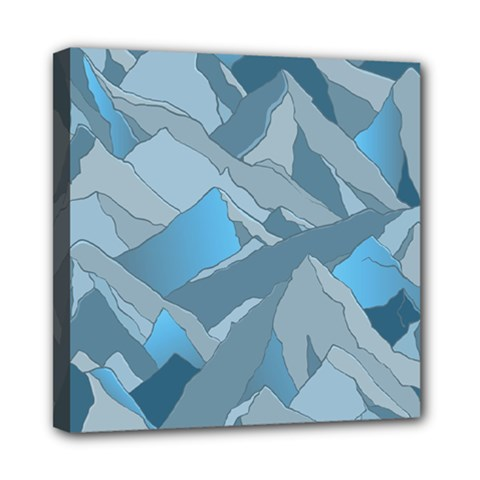 Abstract Nature 16 Mini Canvas 8  X 8  by tarastyle
