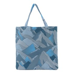 Abstract Nature 16 Grocery Tote Bag by tarastyle