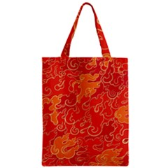 Abstract Nature 18 Zipper Classic Tote Bag by tarastyle
