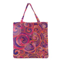Abstract Nature 22 Grocery Tote Bag by tarastyle