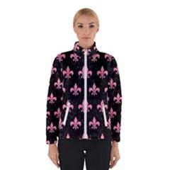 Royal1 Black Marble & Pink Watercolor Winterwear