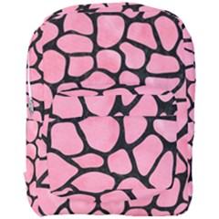 Skin1 Black Marble & Pink Watercolor (r) Full Print Backpack by trendistuff