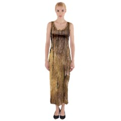 Grannys Hut   Structure 3a Fitted Maxi Dress
