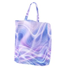 Abstract Graphic Design Background Giant Grocery Zipper Tote by Onesevenart