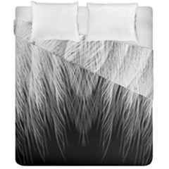 Feather Graphic Design Background Duvet Cover Double Side (california King Size) by Onesevenart