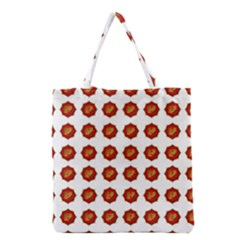 I Ching Set Collection Divination Grocery Tote Bag by Onesevenart