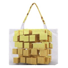Gold Bars Feingold Bank Medium Tote Bag by Onesevenart