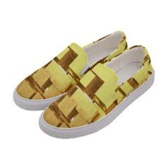 Gold Bars Feingold Bank Women s Canvas Slip Ons by Onesevenart