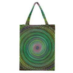 Wire Woven Vector Graphic Classic Tote Bag by Onesevenart