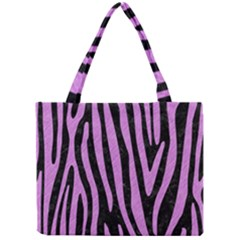 Skin4 Black Marble & Purple Colored Pencil Mini Tote Bag by trendistuff