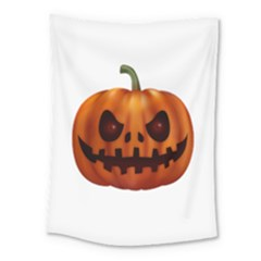 Halloween Pumpkin Medium Tapestry