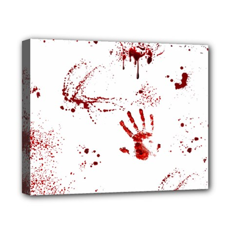 Massacre  Canvas 10  X 8  by Valentinaart