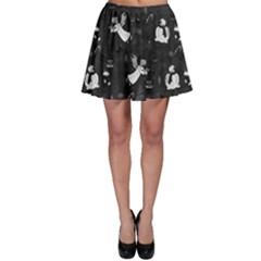 Christmas pattern Skater Skirt