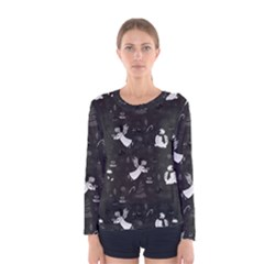 Christmas pattern Women s Long Sleeve Tee