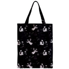 Christmas Pattern Zipper Classic Tote Bag by Valentinaart