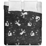 Christmas pattern Duvet Cover Double Side (California King Size)