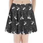 Christmas pattern Pleated Mini Skirt