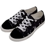 Christmas pattern Women s Low Top Canvas Sneakers