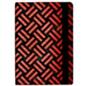 WOVEN2 BLACK MARBLE & RED BRUSHED METAL (R) Apple iPad Pro 12.9   Flip Case View2