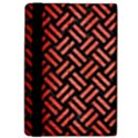 WOVEN2 BLACK MARBLE & RED BRUSHED METAL (R) Apple iPad Pro 12.9   Flip Case View4