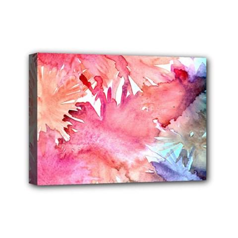 No Mini Canvas 7  X 5  by AdisaArtDesign