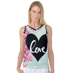 Modern Collage Shabby Chic Women s Basketball Tank Top by 8fugoso