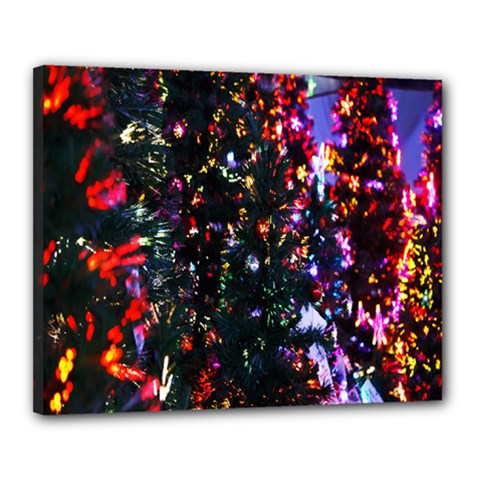 Abstract Background Celebration Canvas 20  X 16  by Onesevenart