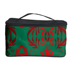Christmas Background Cosmetic Storage Case by Onesevenart