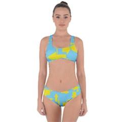 Arrows Criss Cross Bikini Set