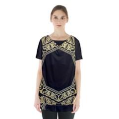 Art Nouvea Antigue Skirt Hem Sports Top by 8fugoso
