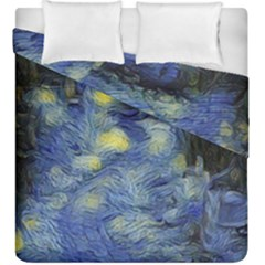 Van Gogh Inspired Duvet Cover Double Side (king Size) by 8fugoso