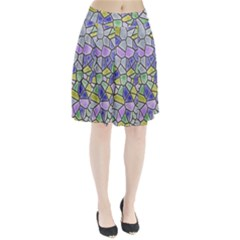 Mosaic Linda 5 Pleated Skirt by MoreColorsinLife
