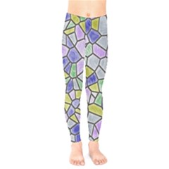 Mosaic Linda 5 Kids  Legging by MoreColorsinLife