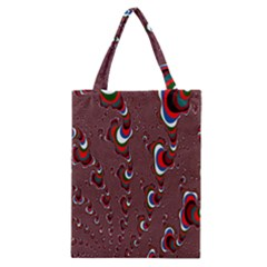 Mandelbrot Fractal Mathematics Art Classic Tote Bag by Onesevenart