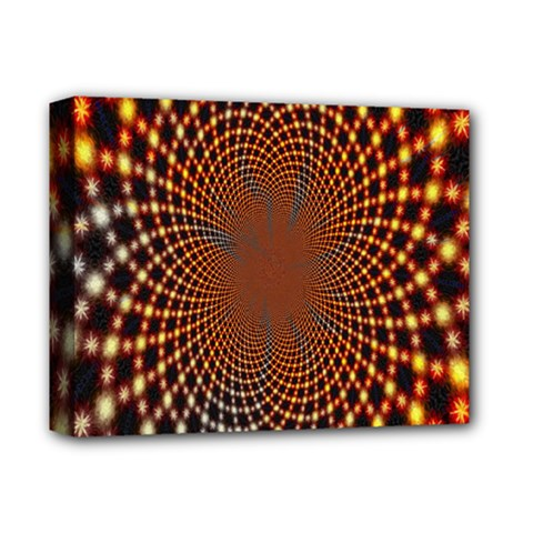 Pattern Texture Star Rings Deluxe Canvas 14  X 11  by Onesevenart