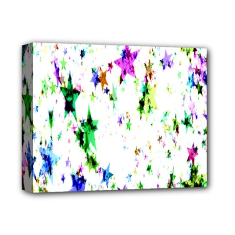 Star Abstract Advent Christmas Deluxe Canvas 14  X 11  by Onesevenart