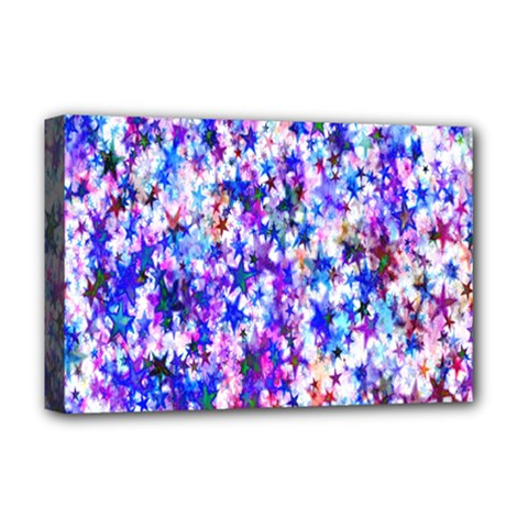 Star Abstract Advent Christmas Deluxe Canvas 18  X 12   by Onesevenart