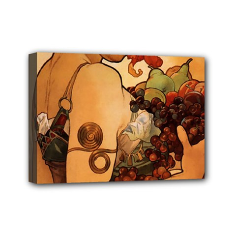 Alfons Mucha   Fruit Mini Canvas 7  X 5  by 8fugoso