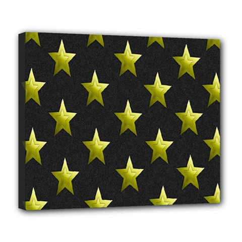 Stars Backgrounds Patterns Shapes Deluxe Canvas 24  X 20   by Onesevenart