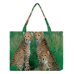 Animals Cheetah Medium Tote Bag by Jojostore