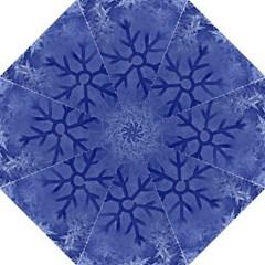 Winter Hardest Frost Cold Straight Umbrellas by Onesevenart