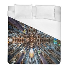 Iron Glass Space Light Duvet Cover (full/ Double Size) by Mariart