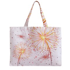 Fireworks Triangle Star Space Line Zipper Mini Tote Bag by Mariart