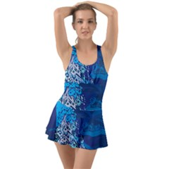 Peacock Bird Blue Animals Swimsuit