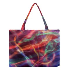 Abstract Shiny Night Lights 4 Medium Tote Bag by tarastyle