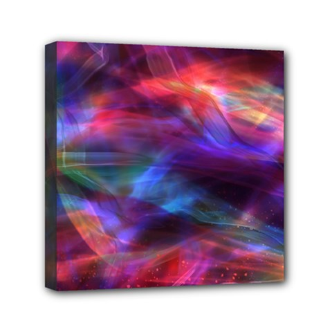 Abstract Shiny Night Lights 7 Mini Canvas 6  X 6  by tarastyle