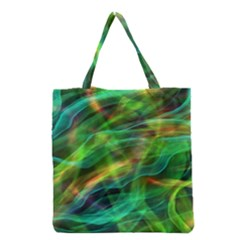 Abstract Shiny Night Lights 8 Grocery Tote Bag by tarastyle