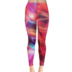 Abstract Shiny Night Lights 9 Leggings  by tarastyle