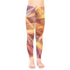Abstract Shiny Night Lights 10 Kids  Legging by tarastyle