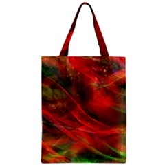 Abstract Shiny Night Lights 12 Zipper Classic Tote Bag by tarastyle